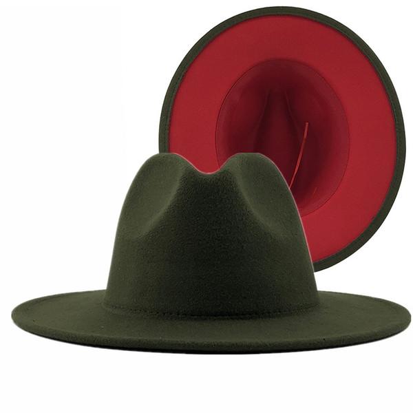육군 녹색 빨강