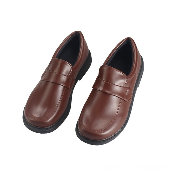 Small Yellow Duck Leather Shoes (size Me