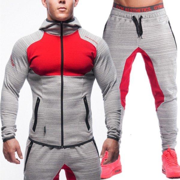 Grigio Rosso Suit