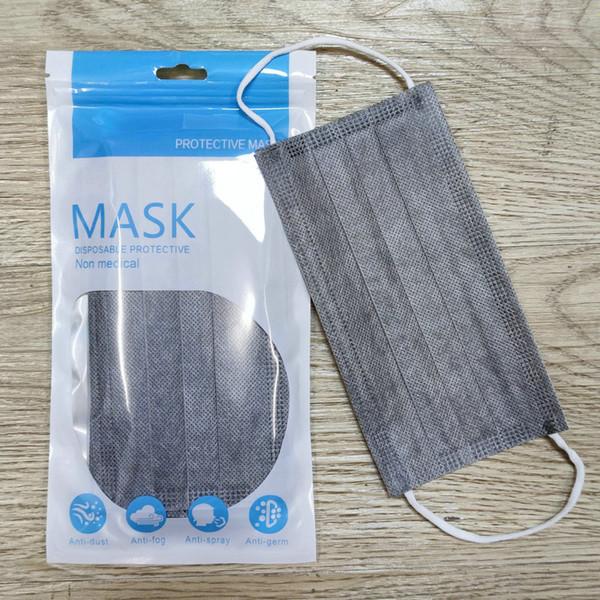 adult graue Maske