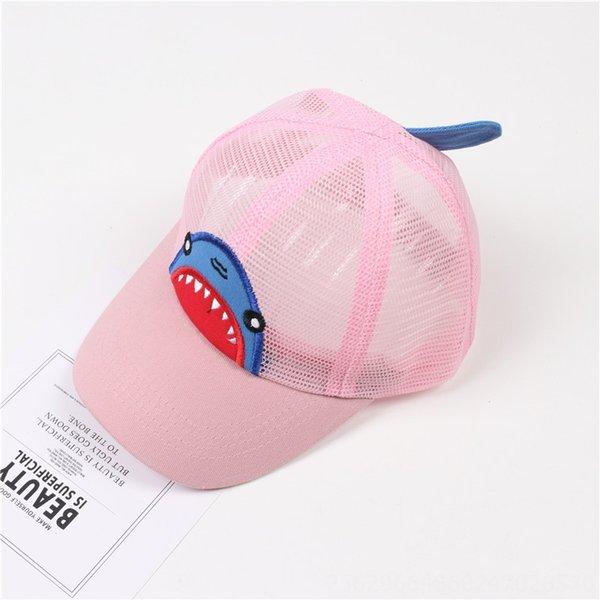 Shark Net Hat Розовый