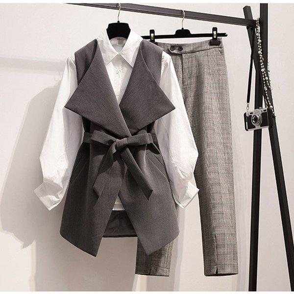 Camicia Gilet Pantaloni