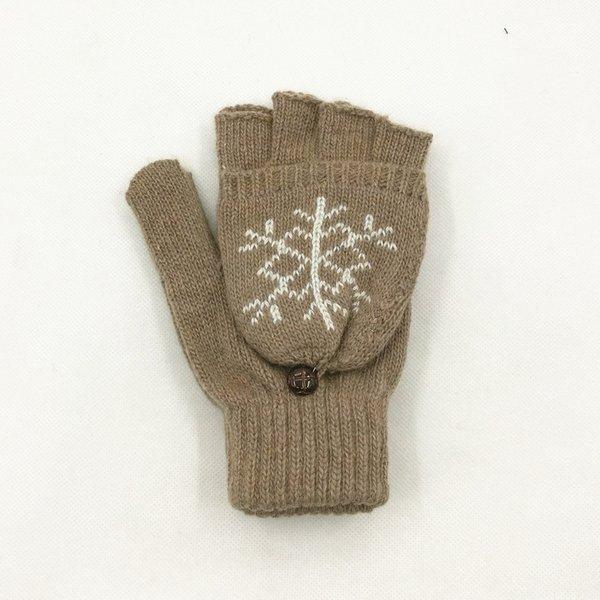 Snowflake Khaki-One Size