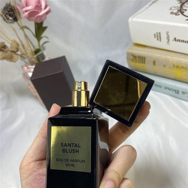 top popular NEW Factory direct 50ml women perfume SANTAL BLUSH eau de parfum high quality Attractive fragrance good smell free shipping 2021