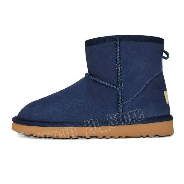 3 Klasik Mini Boot - Mavi