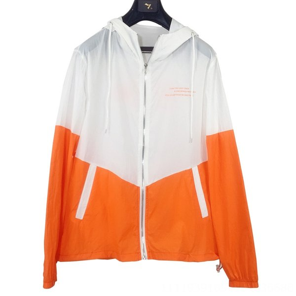 No. 2 branco e laranja