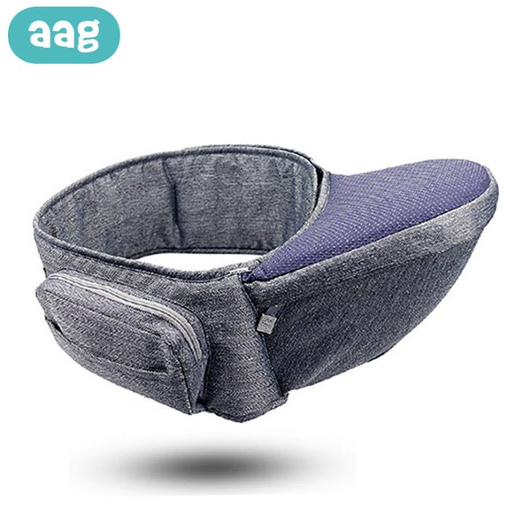 top popular AAG Baby Carrier Ergonomic 360 Waist Stool Walkers Baby Sling Hold Waist Belt Child Hipseat Infant Hip Seat Baby Sitter Pouch C0922 2021
