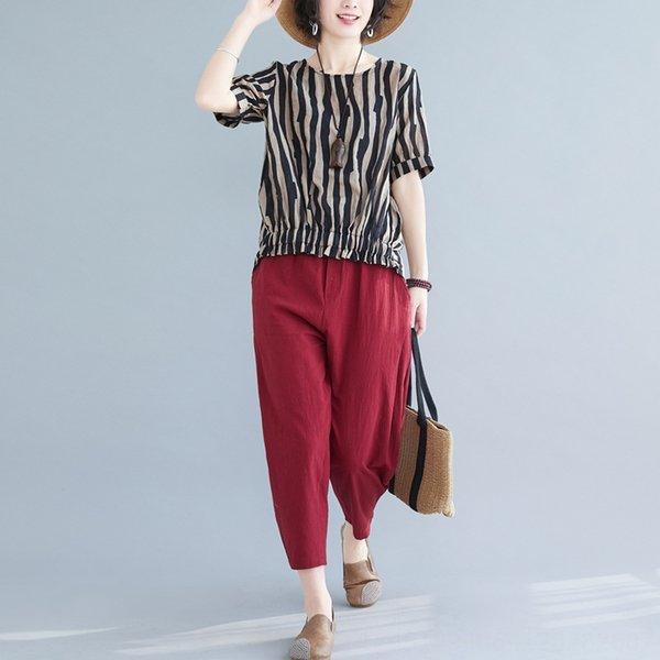 Pantalón negro Top + Red