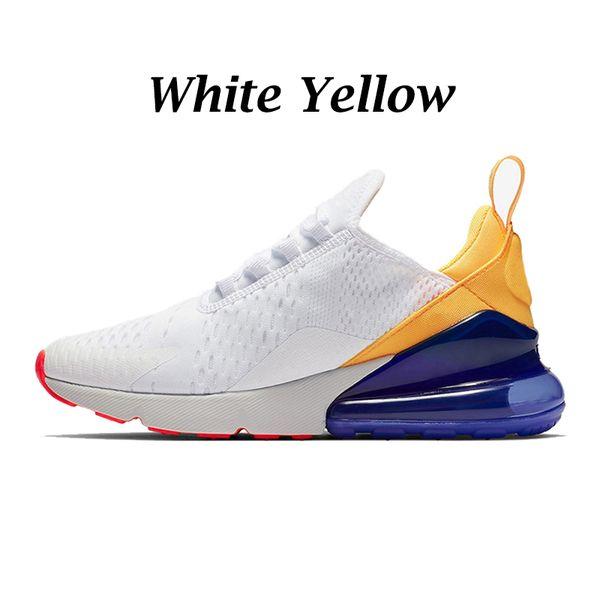 Белый желтый