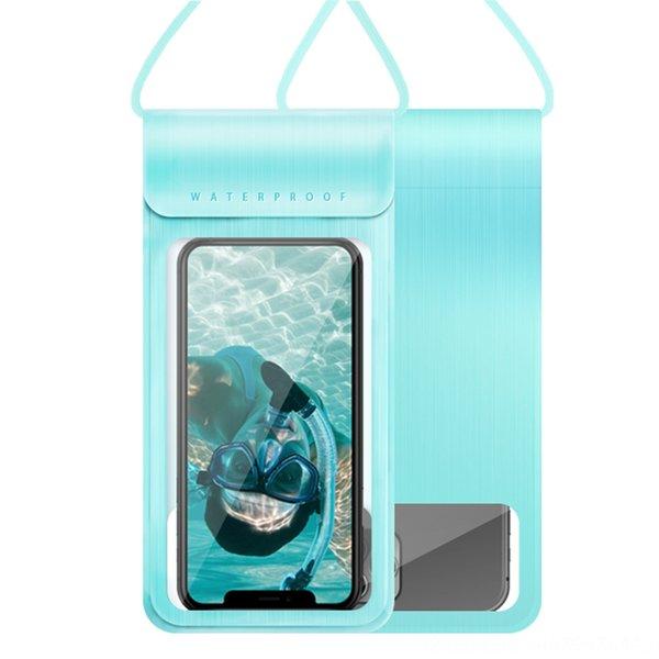 Blue Square Photo Frame