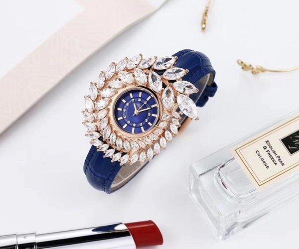 Rose Gold Blue