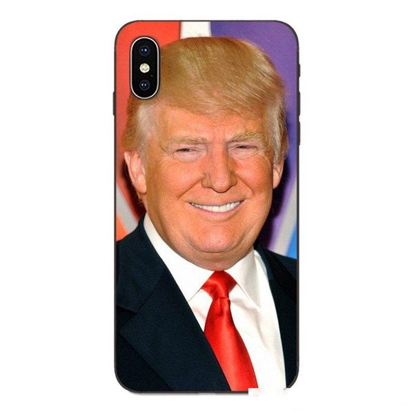 donald trump stupid face phone case for iphone 11 pro x xs max xr 8 7 6 6s plus tpu soft phone cover