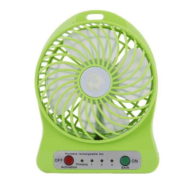 best selling New Mini Portable Desktop Fans Mini USB Fan Lithium Ion fan Rechargeable Battery Multi-Purpose Fan 3 Gears for Home Office