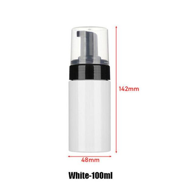 100ml di plastica bianca