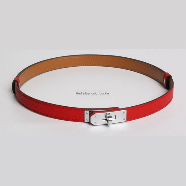 1Pcs_#Red/Sliver buckle_ID915058