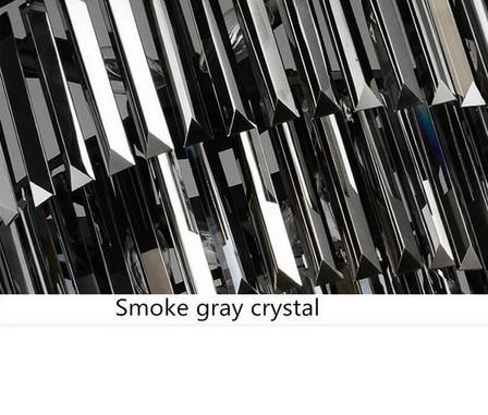 cinza Dia 50 centímetros Smoky