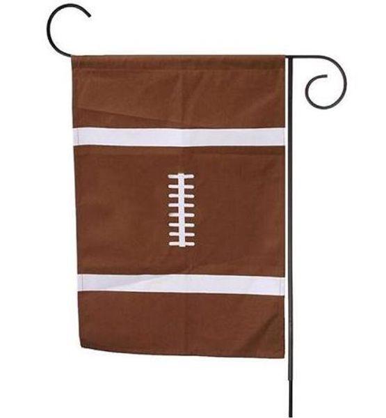 # 6 di tela monogramma bandiera