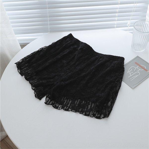 Dantel Emniyet Pants (siyah)