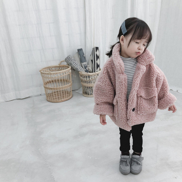 best selling Girl thick warm Kids autumn winter Clothes Children Jacket for Baby Boys Outerwear Girls Coat 2020 toddlers 80~130 cotton C1012