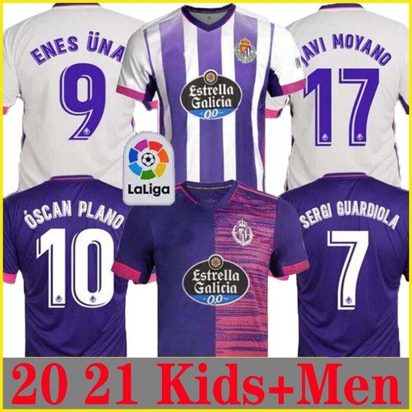 top popular 2020 2021 Real Valladolid soccer jersey 20 21 FEDE S. R. Alcaraz oo Sergi Guardiola Óscar Plano camisetas de fútbol men kids FOOTBALL SHIRTS 2020