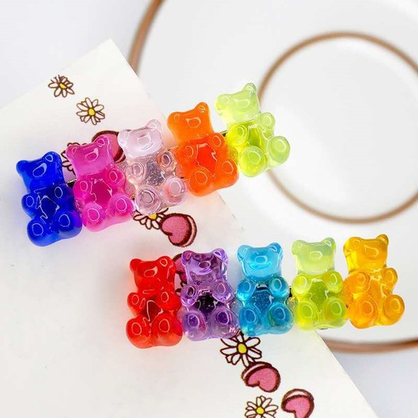 5 Bären (zufällige Farbe Position)