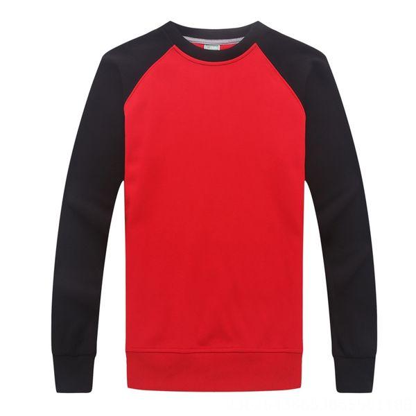 Rossa con maniche nere