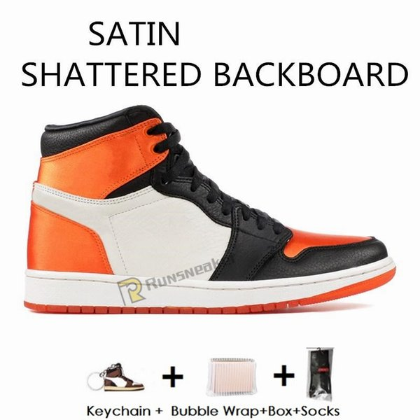 1S-Satins tablero Shattered