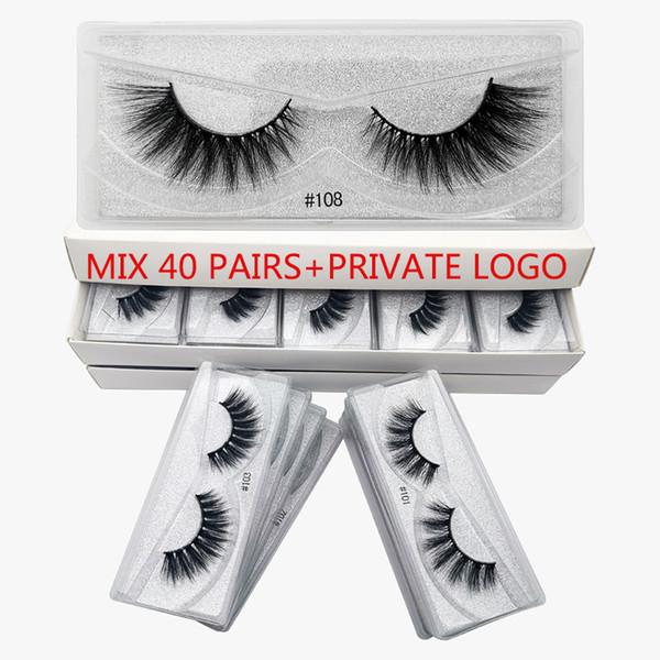 Mix40pairs con el logotipo