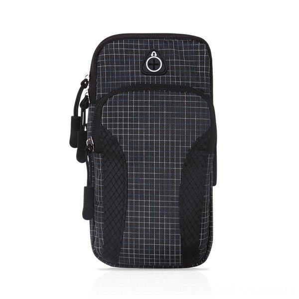 Cailige Arm Bag-schwarz-Large Größe: 5-6 In