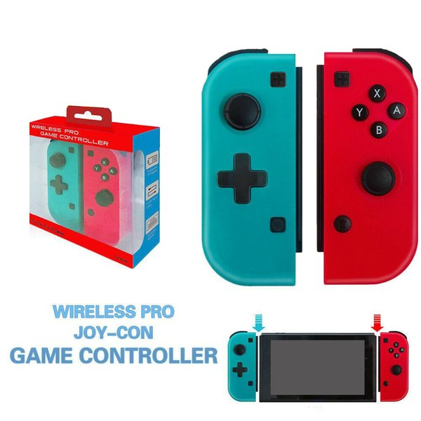 top popular Wireless Bluetooth Pro Gamepad Controller Joystick For Switch Game Wireless Handle Joy-Con Right And Right Handle DHL 2020
