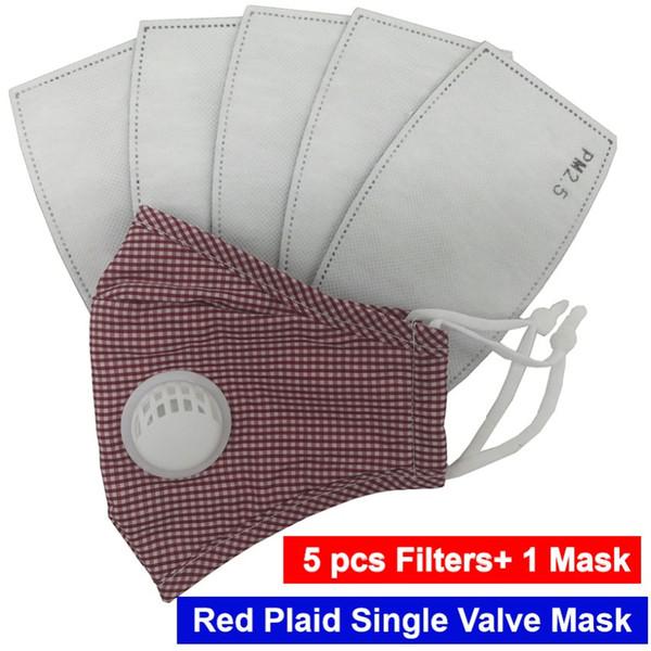 Plaid rosso 1 Valvola