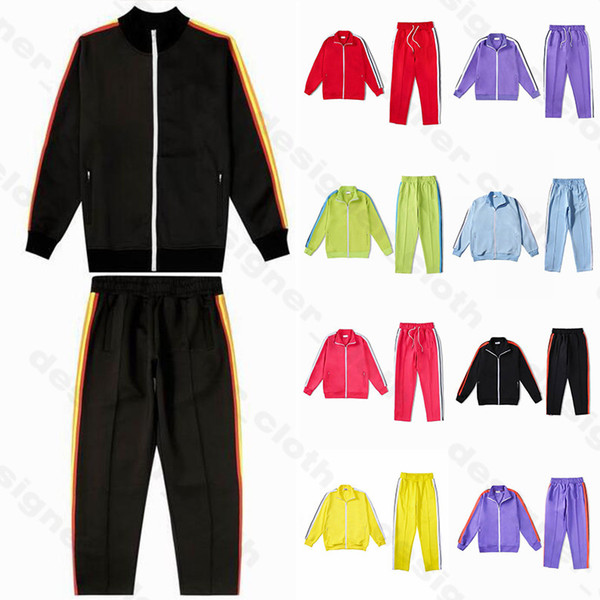best selling 20ss mens womens designer tracksuit Sweatshirts Suits men track sweat suit coats palm man jackets coat hoodie sweatshirt Sportswear 2020