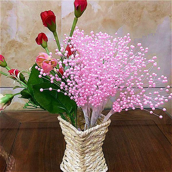 Pearl star twigs bridal Artificial Dried Flowers bouquet wedding bouquet decoration DIY floral arrangement accessories