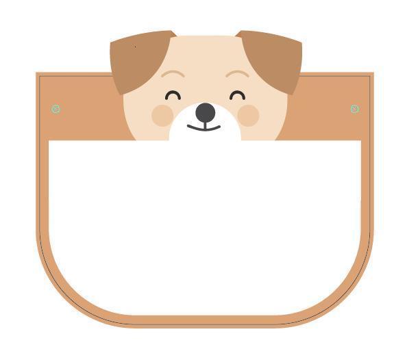 Lächeln Dog-Multi