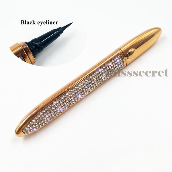 Diamond black eyeliner