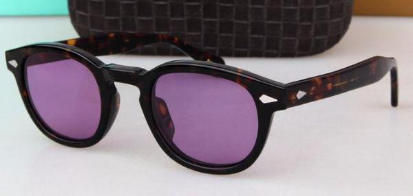 Monture écaille de tortue violet