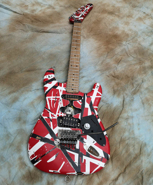 best selling Edward Eddie Van Halen Frankenstein Heavy Relic Electric Guitar FR2
