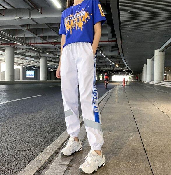 8820 Beyaz Ve Mavi Pantolon
