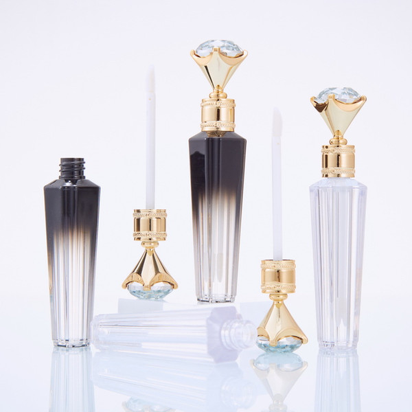 best selling Diamond DIY Lip Gloss Tubes Bottles Clear Empty LipGlosss Tube Lips Glosss Travel Bottle Packaging Containers Refillable