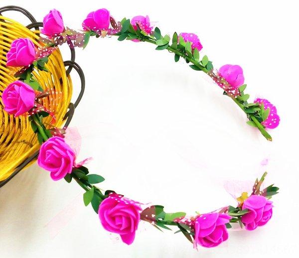 12 Rosa Roja Flores