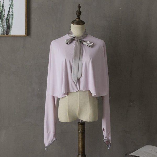 Светло-серый Фиолетовый-серебряная лента