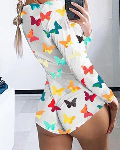 Sfondo bianco farfalla