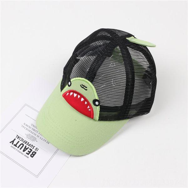 Shark Net Hat Черный (зеленый Брим)