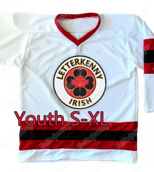 White1 Youth S-XL