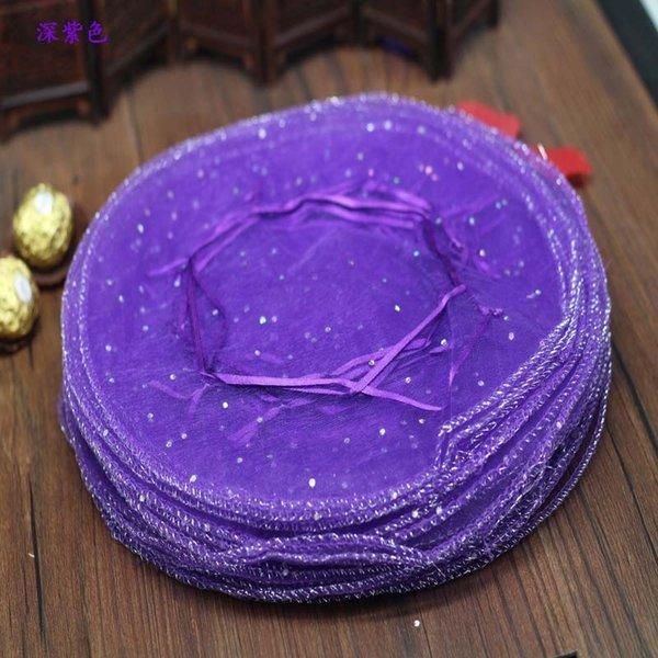 Purple-Grande Taille A propos 45cm