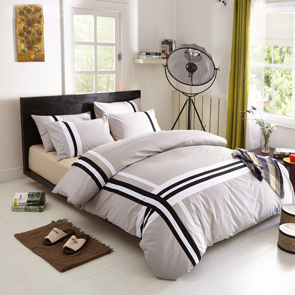 cotton adult kids bedding set fashion casual bedding sets bed linen quilt/duvet cover bed sheet for king/queen/twin bed