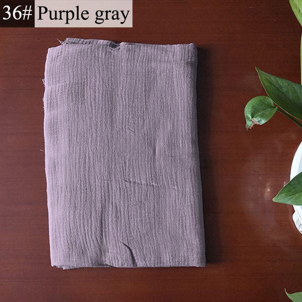 36-viola grigio-50cm x 135 centimetri