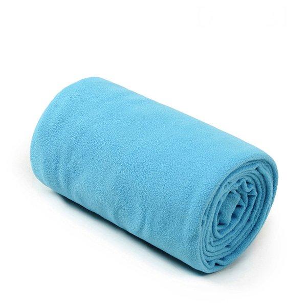 Single velvet L blue