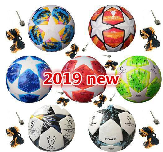best selling Hot sales Best European champion high quality Soccer ball 2018 2019 Final KYIV PU size 5 granules slip-resistant football Free shipping