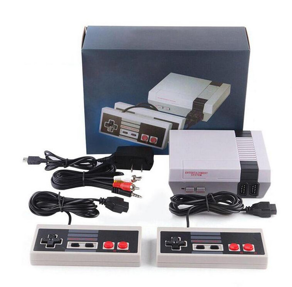 best selling Newest Arrival Nes Mini TV Can Store 620 500 Game Console Video Handheld For NES Games Consoles Wth Retail Box Package Shipping Free